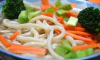 Udon Noodles in Soup